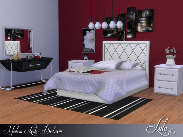 Modern Look Bedroom by Lulu265 at TSR image 9104 Sims 4 Updates