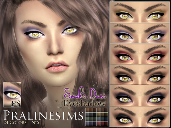 Smoke Dust Eyeshadow by Pralinesims at TSR image 927 Sims 4 Updates