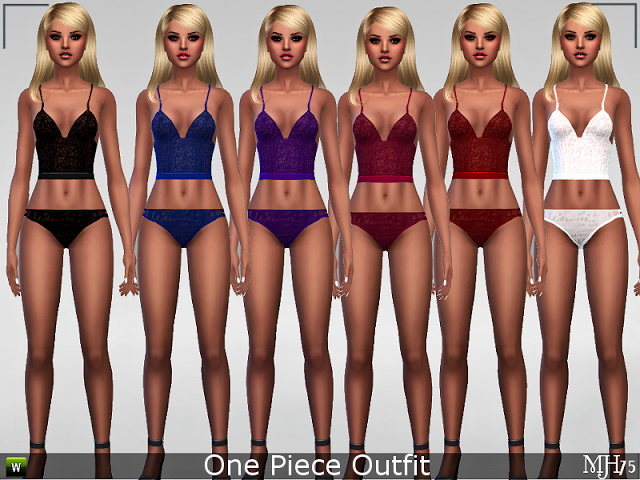 Sims 4 Lace Collection by Margie at Sims Addictions