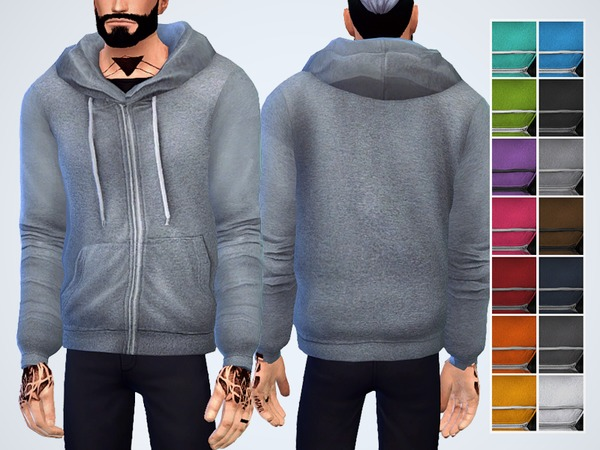 Heather Knitted Hoodie by Chisimi at TSR image 962 Sims 4 Updates