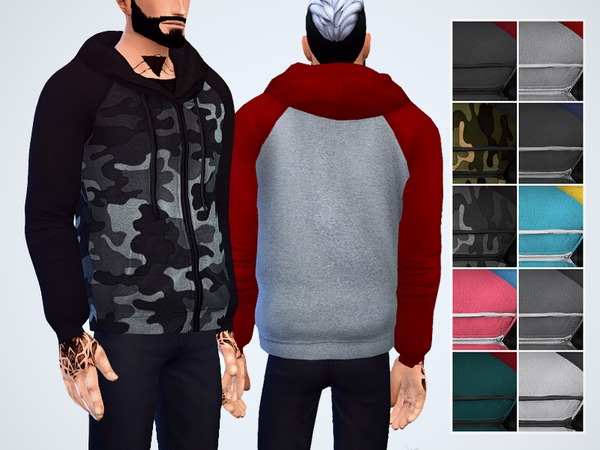 Heather Knitted Hoodie by Chisimi at TSR image 972 Sims 4 Updates
