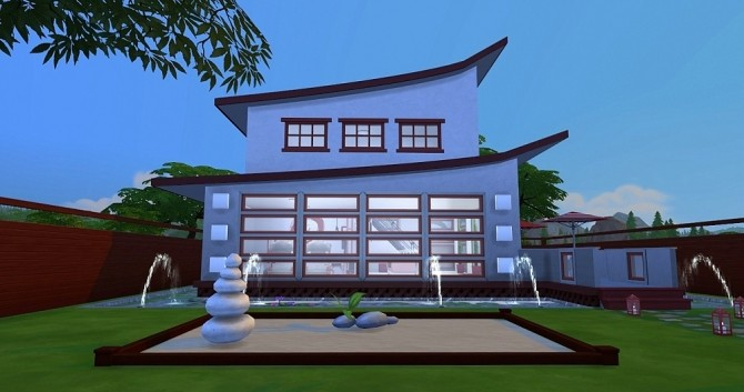 Sims 4 Japanese line by Dolkin at ihelensims