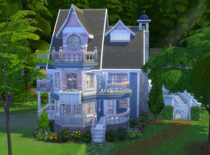 Victorian Cottage Retreat by Christine11778 at Mod The Sims image 1007 670x496 Sims 4 Updates