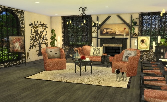 Sims 4 Furniture Recolors Set 3  1 by Ilona at My little The Sims 3 World