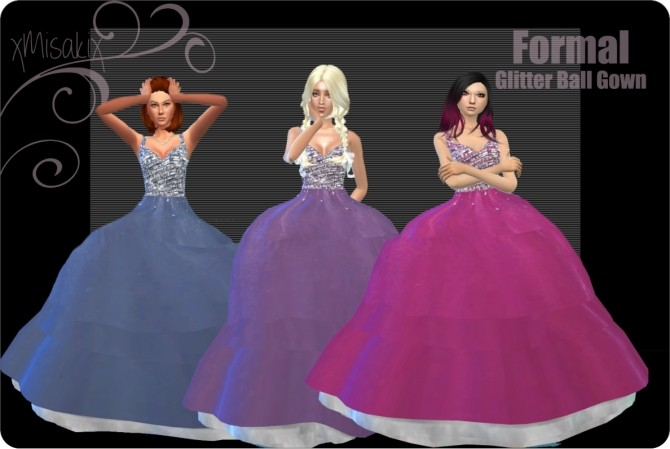 Ball Gowns at xMisakix Sims image 1046 670x449 Sims 4 Updates