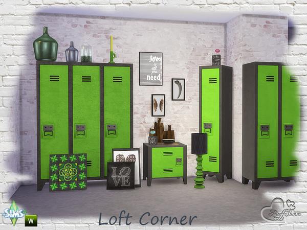 Loft Corner by BuffSumm at TSR image 1070 Sims 4 Updates