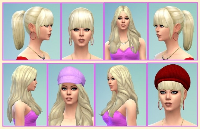 BBPonytail and BardotHair at Birksches Sims Blog image 10710 670x431 Sims 4 Updates