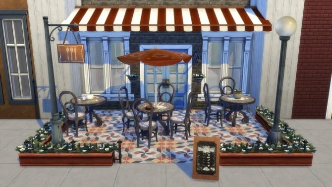 Sims 4 Bistro Set *Updated at Jool's Simming