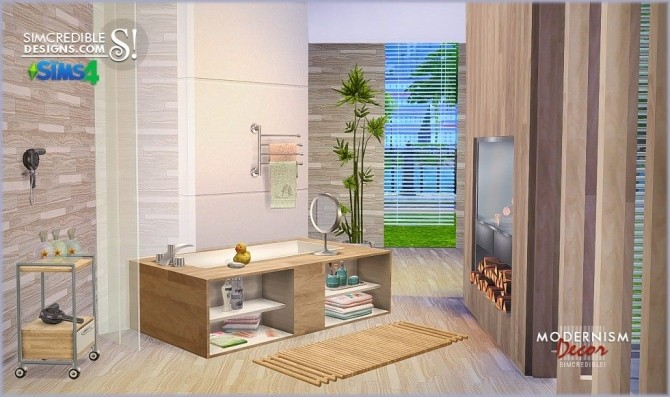 Modernism Add Ons & Bathroom at SIMcredible! Designs 4 image 1103 670x397 Sims 4 Updates
