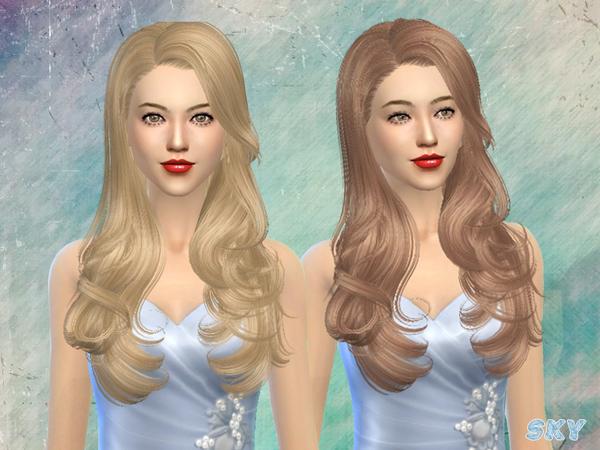 Sims 4 Hair 084 by Skysims at TSR