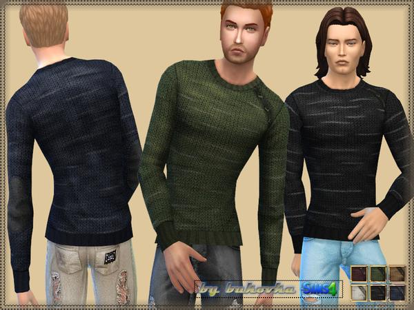 Sims 4 Sweater Tweed Yarns by bukovka at TSR