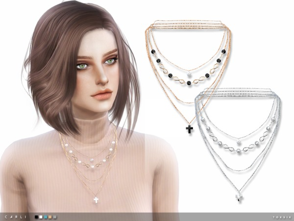 carli necklace by toksik at tsr  u00bb sims 4 updates