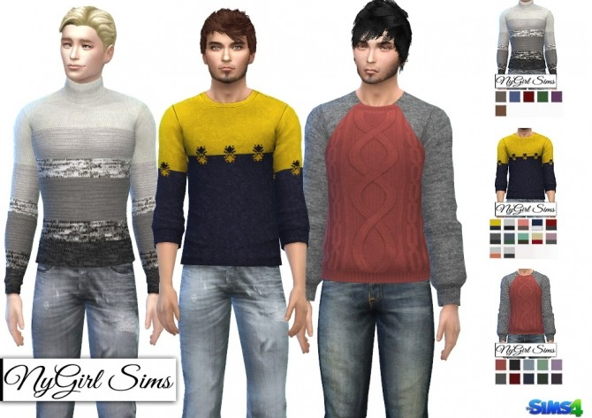 Fall Fashion Sweaters at NyGirl Sims image 1126 670x473 Sims 4 Updates
