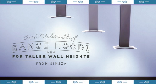 Sims 4 CKS Steam Catcher for Taller Wall Heights at Simsza