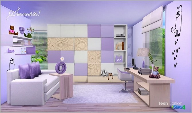 Teenroom Edition at SIMcredible! Designs 4 image 11313 670x397 Sims 4 Updates