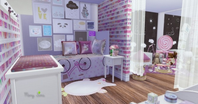 Little Girl Bedroom At Mony Sims