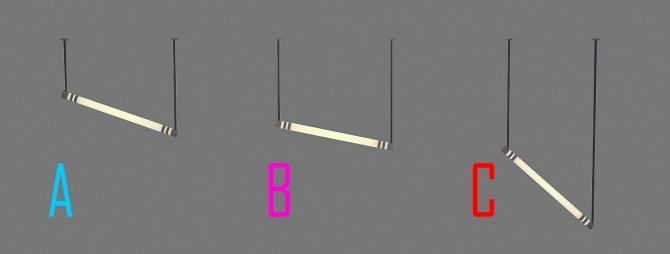 Tube Lights at Jool's Simming image 1145 670x254 Sims 4 Updates