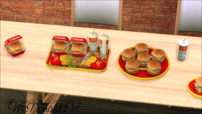 Mcdonald Set By Dalailama At The Sims Lover 187 Sims 4 Updates