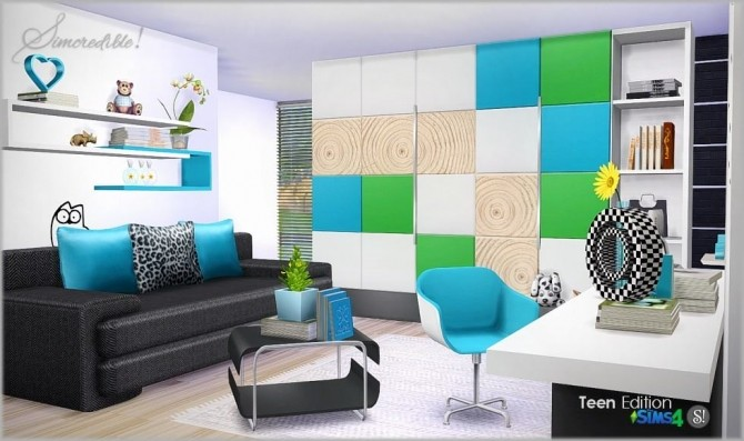 Teenroom Edition at SIMcredible! Designs 4 image 11511 670x397 Sims 4 Updates