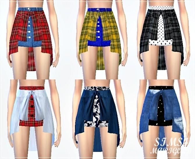 Tied shirts skirt at Marigold image 1153 670x545 Sims 4 Updates