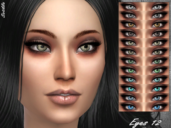 Eyes 12 by Sintiklia at TSR image 1160 Sims 4 Updates