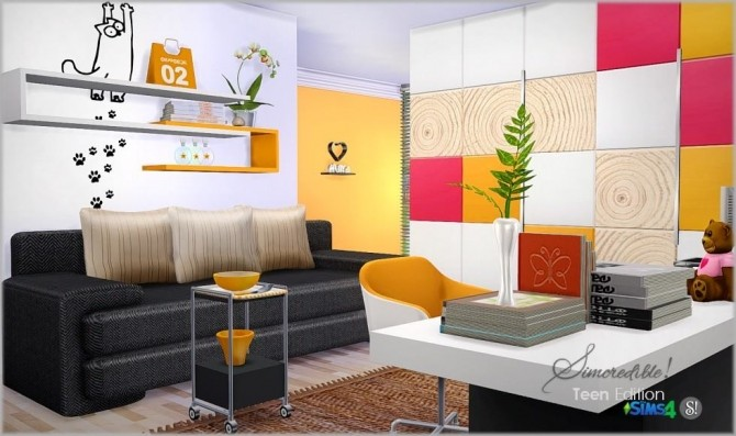Teenroom Edition at SIMcredible! Designs 4 image 11710 670x397 Sims 4 Updates