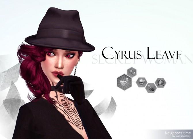 Sims 4 CYRUS LEAVF at manuea Pinny