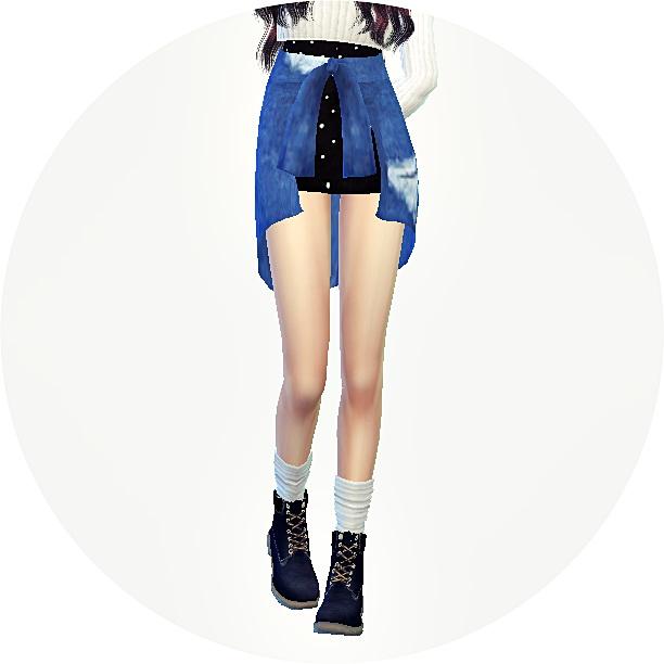 Tied Skirt 2