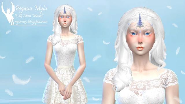 Pegasus Myla at NG Sims3 image 1190 Sims 4 Updates