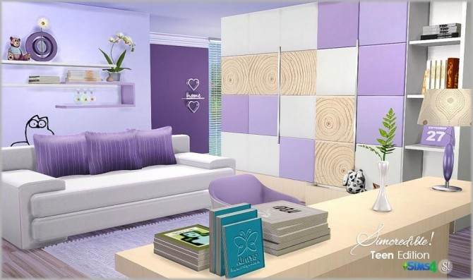 Teenroom Edition at SIMcredible! Designs 4 image 11910 670x397 Sims 4 Updates