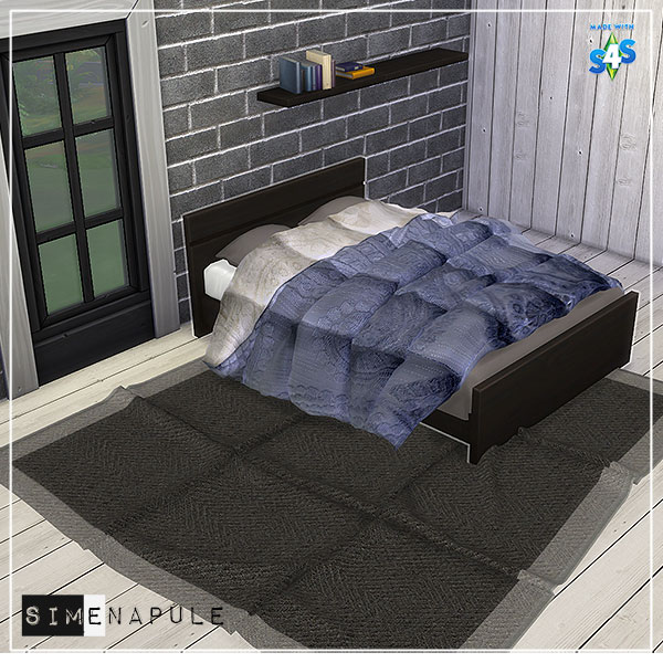 Duvet 01 Blanket By Ronja At Simenapule 187 Sims 4 Updates
