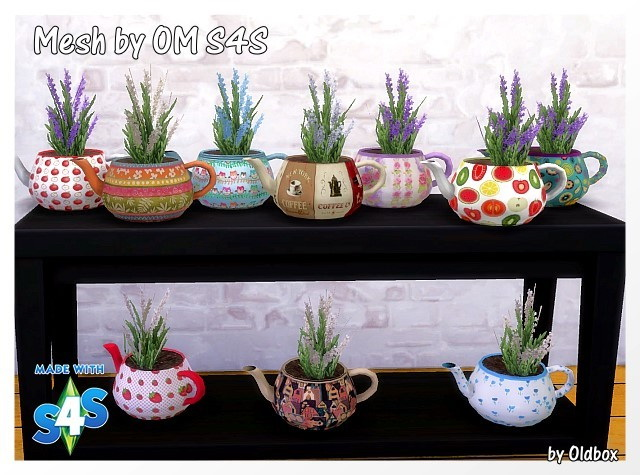Teapots by Oldbox at All 4 Sims image 12120 Sims 4 Updates