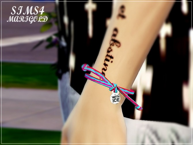 Sims 4 With ice bracelet FIX at Marigold