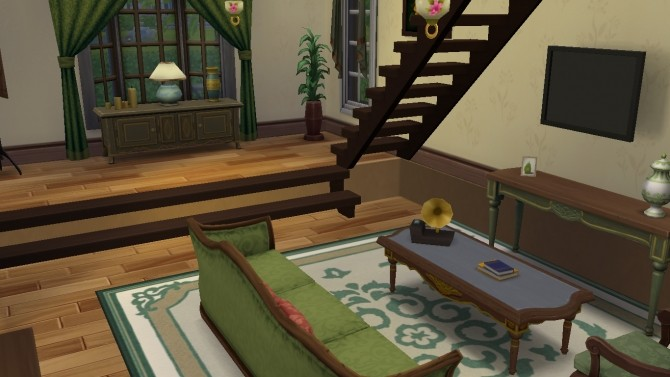 Sims 4 Romantic House by egael at Mod The Sims