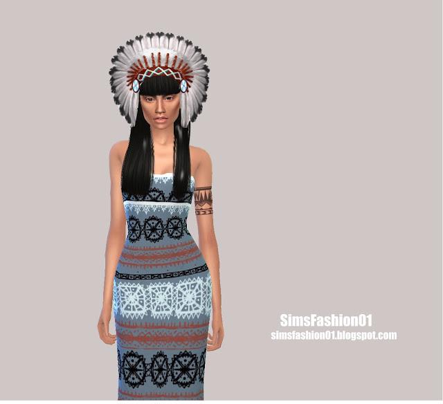 Indian Dress At Sims Fashion01 » Sims 4 Updates