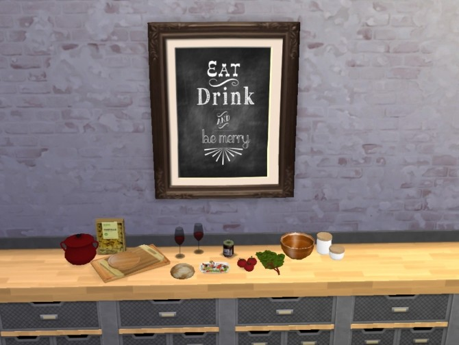 Sims 4 Object recolors by Merry Sims at Sims 4 Studio