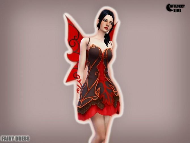 Fairy Dress costume at NiteSkky Sims image 12517 670x503 Sims 4 Updates