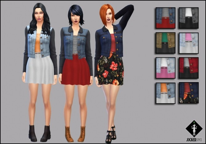 Sims 4 The Emotion Outfit at Jocker Sims