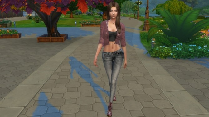 Sims 4 Louise by Elena at Sims World by Denver