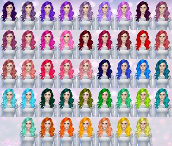 Skysims Hair 187 retexture at Aveira Sims 4 image 12814 670x569 Sims 4 Updates