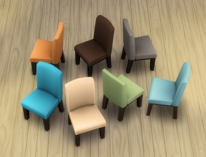 Sims 4 Lux Chair by plasticbox at Mod The Sims