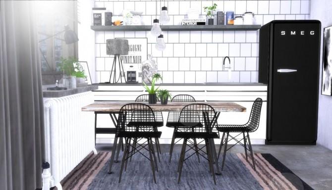 Sims 4 Industrial set 1 at Hvikis