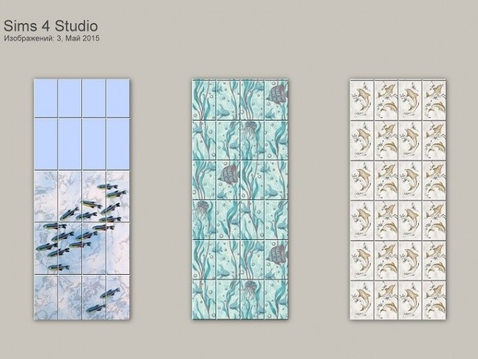 Fishes Walls & Floors at ihelensims image 13416 670x503 Sims 4 Updates