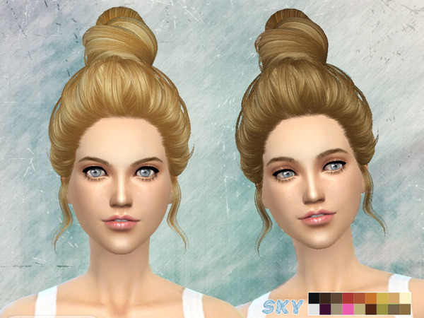Hair 272 Amily by Skysims at TSR image 13511 Sims 4 Updates