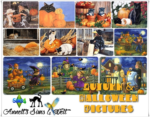 Autumn & Halloween Pictures Part 2 at Annett's Sims 4 Welt image 13516 Sims 4 Updates