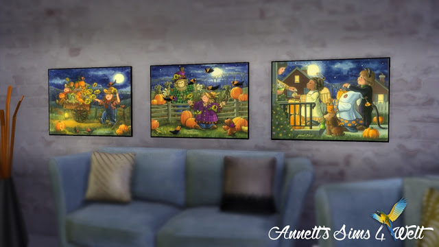 Sims 4 Autumn & Halloween Pictures Part 2 at Annett's Sims 4 Welt