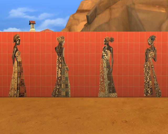 Ethnic tiles at Mara45123 image 13714 Sims 4 Updates
