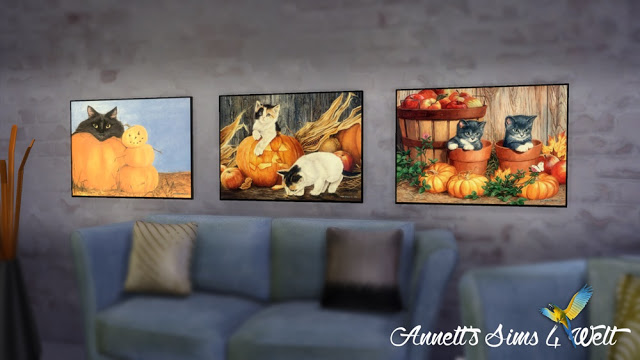 Autumn & Halloween Pictures Part 2 at Annett's Sims 4 Welt image 13715 Sims 4 Updates