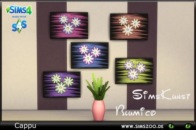 Sims 4 SimsKunst Blumico by Cappu at Blacky's Sims Zoo