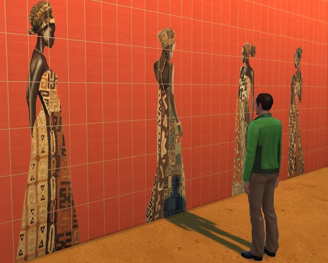 Ethnic tiles at Mara45123 image 14014 Sims 4 Updates